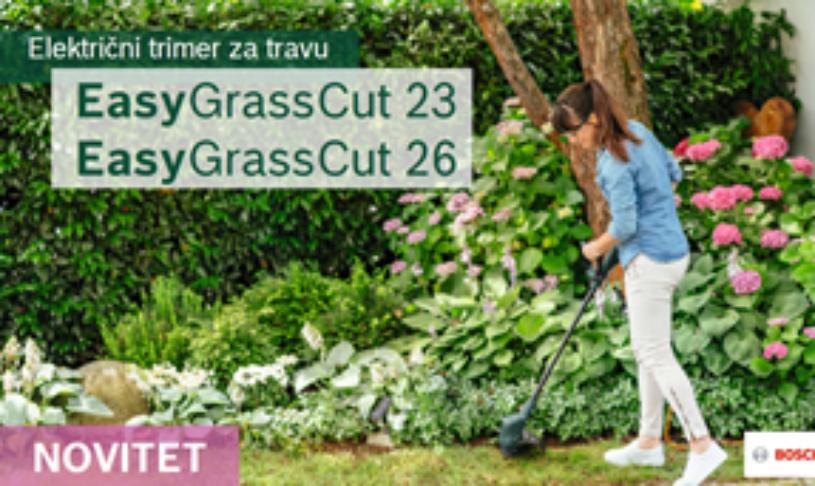 Električni trimer za travu EasyGrassCut 23 / EasyGrassCut 26